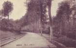 WONCK = Route D'Eben (écrite) 1929 + Dépôt Relais Wonck - Bassenge