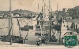 CHERBOURG - Le Port Et Le Quai Caligny (bateaux) - Cherbourg