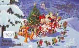 Télécarte Japon DISNEY * 110-182037 * CHRISTMAS Series Santa (3923) Japan Phonecard - Disney