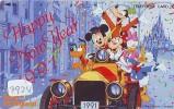 Télécarte DISNEY Japon (3924) Phonecard Japan * MICKEY & GOOFY * Telefonkarte Japan * 110-101058 - Disney