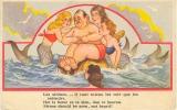 POSTKAARTEN- 1947- ZEEMEERMINNEN VERWENNEN EEN MAN - Autres