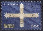 Australia 2004 Eureka Flag 50c Used - Gebraucht