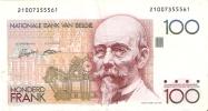 BILLETE DE BELGICA DE 100 FRANCOS   (BANK NOTE) - 100 Francos