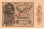 BILLETE DE ALEMANIA DE 1000000 DE MARCOS DEL AÑO 1922    (BANK NOTE) - 1 Million Mark