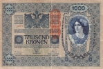 BILLETE DE AUSTRIA DE 1000 KRONEN  DEL AÑO 1902 (BANK NOTE) - Austria