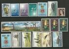 Lot De 19 T-p Neufs ** De L´ile Norfolk. Cote 29,10 € - Islands