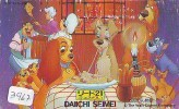 Télécarte Japon DISNEY * 110-63050 * CINEMA * MOVIE * LADY AND THE TRAMP * Japan Phonecard Telefonkarte (3966) - Disney