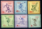 1964 Bulgaria Mi.1488-1493 1964 Olympics Tokyo 4,00 € - Summer 1964: Tokyo