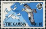 THE GAMBIA 1983 - SG#513 MNH ** - OSPREY BREEDING RANGE : PANDION HALIATUS - Águilas & Aves De Presa