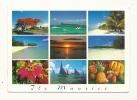 Cp, Ile Maurice, Multi-Vues, Voyagée (non Oblitérée) - Mauritius