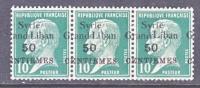 S Yria  160 X 3   **  Ovpt. SHIFT - Syria (1919-1945)