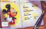 Télécarte Japon DISNEY / 110-186294 - Mickey Mouse (3974) Japan Phonecard Telefonkarte - Disney