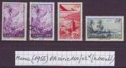 Maroc Français (1955) Y/T PA Série 100/02 Neufs * (+ 100 Obl) Au 1/4 De Cote! - Maroc (1891-1956)