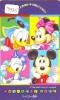 Télécarte Japon / 110-147806 - DISNEY- Mickey Minnie Donald (3985) Japan Phonecard Telefonkarte Assu - Disney