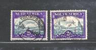 SOUTH AFRICA UNION 1947 Used Loose Stamps  Definitives 2d Hyph. Screened  SACC-115  #12187 - South Africa (...-1961)
