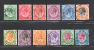 """SOUTH AFRICA """"UNION"""" 1913 Used Stamp(s) George V  12 Values Not Complete Nrs. Between 2 And 15 - South Africa (1961-...)"""