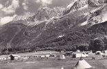 74 Chamonix - Les Bossons - Le Camping Des Deux Galciers Et La Chaîne Des Aiguilles - Chamonix-Mont-Blanc