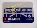 Flughafen Airport Leipzig-Halle Pocket Calendar 1997 - Calendari