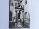 COLMAR - Musée D´Unterliden, Le Puits De La Corporation Des Tailleurs Du XVII E Siècle. - Colmar