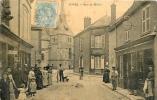 VOVES - RUE DU MILIEU - CPA ANIMEE - 1906- - France