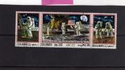 EMIRATI ARABI UNITI - UNITED ARAB EMIRATES 1969 DUBAI APOLLO SPACE FIRT MAN ON MOON - SPAZIO PRIMO UOMO SU LUNA USED - Dubai