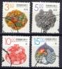 China Taiwan 1993, Crane - Unicorn - Stag - Deer - Duck (o), Used - Gebruikt