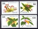 China Taiwan 1991, Plants - Berries - Tree **, MNH-VF - Ongebruikt