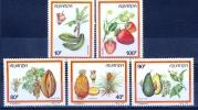 Rwanda 1987 Fruits MNH** - Lot. 1103 - Frutta