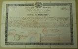 1852 Empire Congé De Libération Charles Caffe Instituteur Communal Trouillas Cachets Et Signatures De Généraux Perpignan - Manuscrits