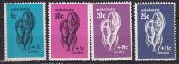 Ned Antillen  1967  NPVH  385-388  MLH - Curacao, Netherlands Antilles, Aruba