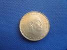 Espagne Spain 100 Pesetas Franco 1966 *68 19g Silver Plata 0,800 Muy Buena Conservación. Ver Fotos - [ 5] 1949-… : Reino