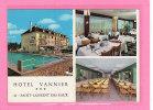 SAINT LAURENT DES EAUX (41) / COMMERCE / HOTELS / Hôtel Vannier Carte De Visite Avec Vues Multiples Au Format CPM R/V - Cartes De Visite