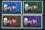 "NOUVELLE HEBRIDES   1966   MNH  -  ""  HOMMAGE A  SIR  WINSTON  CHURCHILL ""  -  4 VAL. - Sir Winston Churchill"