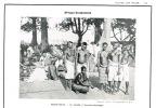 Photographie Photo Ext. Toutes Les Races. Beaute Corps Nu 1931 11x17 Afrique Haute Volta Marche Soubaka Femme Crane  TB - Reproducciones