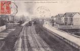 RA 95 - SAINT-LEU - La Gare - Prise De La Petite Passerelle - Passage D'un Train à Toute Vapeur - Saint Leu La Foret
