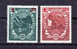 ROMANIA  1952 OVERPRINT ,Economic Plan,  Mi # 1368/9 , Cv 26,00 E ,  ** M N H , V V F - Nuovi