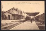70 CPA   - VITREY-VERNOIS - La Gare - Train Arrivant De Belfort - Embranchement De Bourbonne-les-Bains - Autres Communes