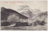 GEORGIA RUSSIA - KASBEK VOLCANO-MOUNTAIN - RUSSIAN MILITARY ROAD 1910s Postcard  [v3866] - Georgia