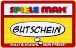 Germany - Carte Cadeau - Gift Card - Geschenkkarte - Spiele Max - Frankreich