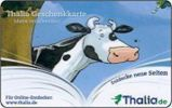 Germany - Carte Cadeau - Gift Card - Geschenkkarte - Thalia Bookstore - Kuh - Cow - Frankreich