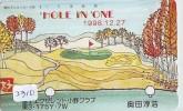 Télécarte Japon * TELEFONKARTE JAPAN * GOLF  * (2310) HOLE IN ONE *  SPORT * PHONECARD * - Sport