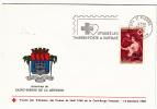 Croix Rouge - Surtaxe 15 + 5 CFA, Saint Pierre De La Réunion, Sur Nicolas Mignard : L´auronne - 15/12/1968 - FDC