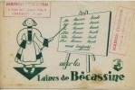 Buvard -  **  LES LAINES DE BECASSINE  ** -    Maison Perrucon  - Chambéry Savoie - Textilos & Vestidos