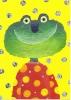 "CPM Carte Postale ""The Frog"" Grenouille Rigolote - Sophie Fatus - Humour"