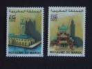 Marokko Maroc 2001 Moskee Basiliek Mosque basiliek basilique Yv 1282-1283 MNH **