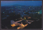 Italy PPC Sardegna Nouro Panorama Notturno General View By Night Bei Nacht Sent 1988 To Danimarca - Nuoro