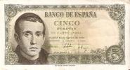 BILLETE DE ESPAÑA DE 5 PTAS DEL 16/08/1951 SERIE G EN CALIDAD BC (BANKNOTE) - [ 3] 1936-1975 : Régimen De Franco