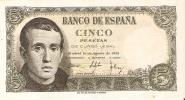 BILLETE DE ESPAÑA DE 5 PTAS DEL 16/08/1951 SERIE 1G EN CALIDAD MBC (BANKNOTE) - [ 3] 1936-1975 : Régence De Franco