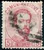 Ed 118 Amadeo 5 Céntimos Rosa De 1872 En Usado - 1872-73 Reino: Amadeo I