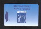 STATION KEY CARD -  ( VILLE DE REMS ) - Hotel Keycards